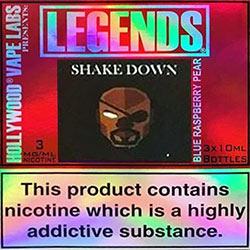 Legends e-liquids by Hollywood Vape